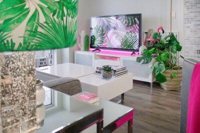 Futuristic Interior Design Living Room of the Future