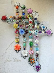 A Cross of Pearls