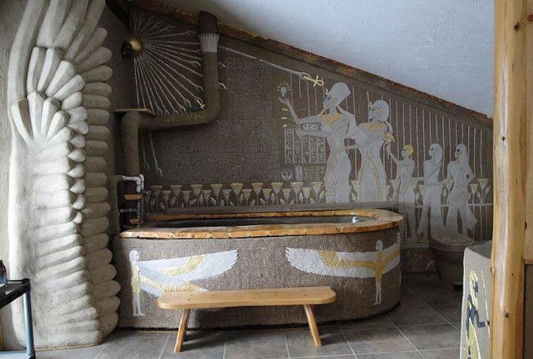 Egyptian bathroom surprise Wall Décor