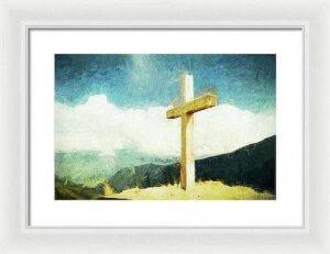 Cross Wall Painting