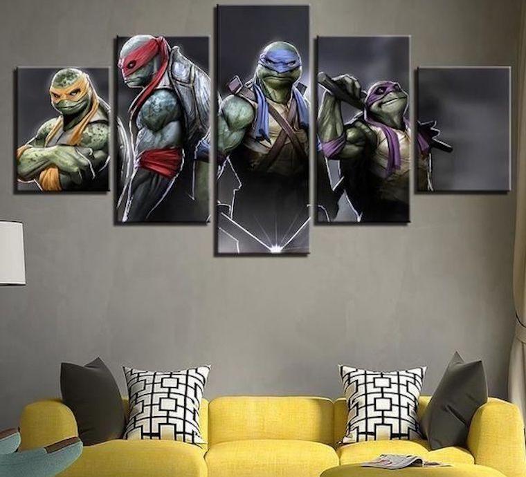 Ninja Turtle Art
