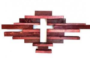 Wooden Cross Art