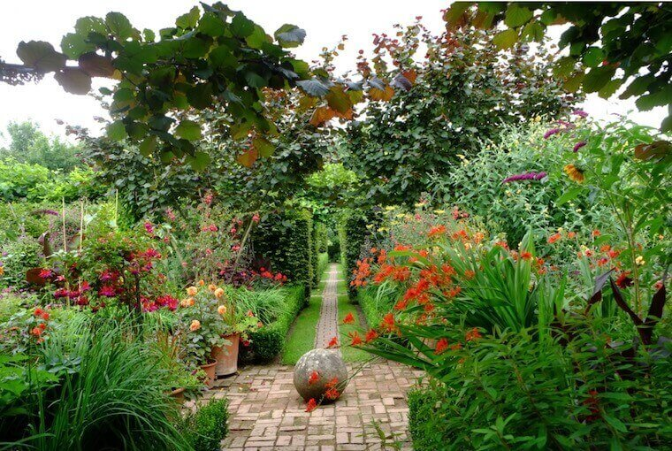 Monty Don's The Jewel Garden in Longmeadow